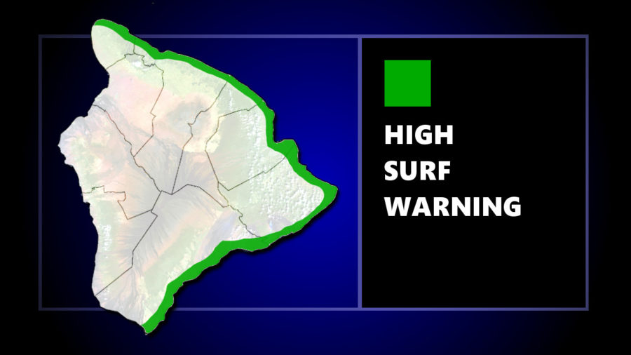 High Surf Warning For East Hawaii As Hurricane Norman Nears