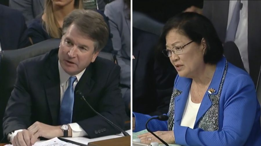 VIDEO: Hirono Questions Kavanaugh On Day Two Of Senate Hearing