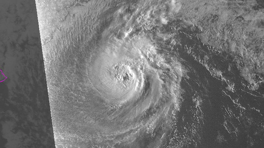 Norman Strengthens Into A Major Hurricane Overnight