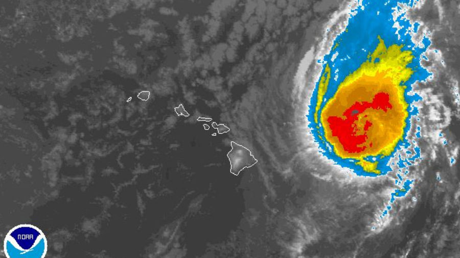 Hurricane Norman Turns West Northwest, Distant Olivia A Major Hurricane