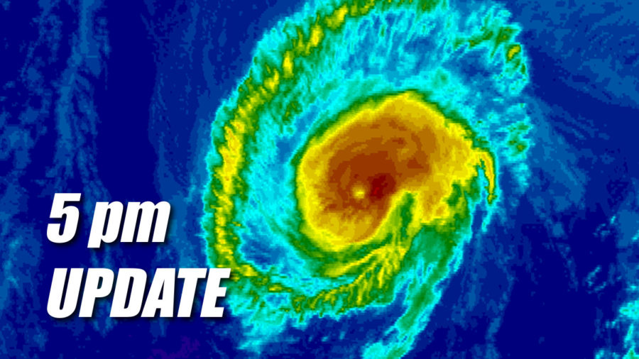 Tropical Storm Watch Issued As Hurricane Olivia Aims For Hawaii