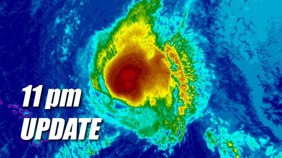 Tropical Storm Olivia Update for 11pm Monday