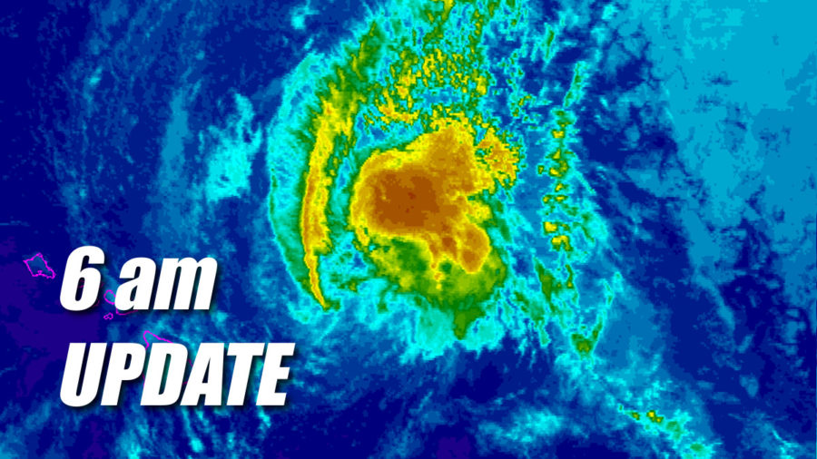 Tropical Storm Olivia Update for 6am Tuesday