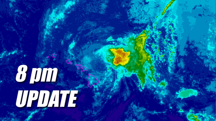 Tropical Storm Olivia Update for 8pm Tuesday