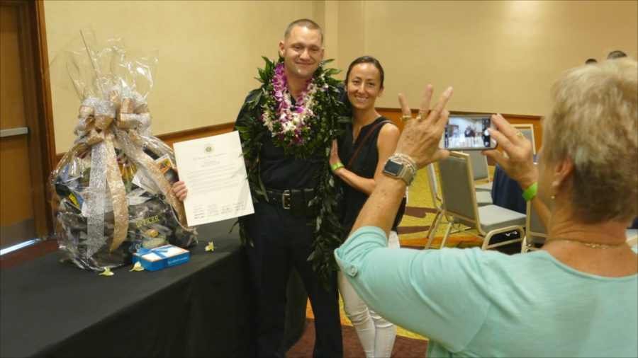 VIDEO: Adam Roberg Named Kona Police Officer Of The Year