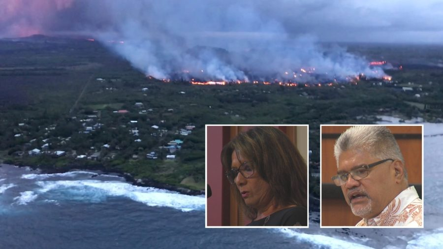VIDEO: Destructive Kapoho Lava Flows Remembered At OHA Meeting