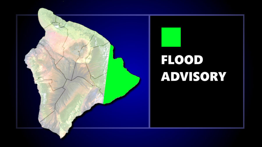 Flood Advisory Posted For East Hawaii As Thunderstorm Rolls In