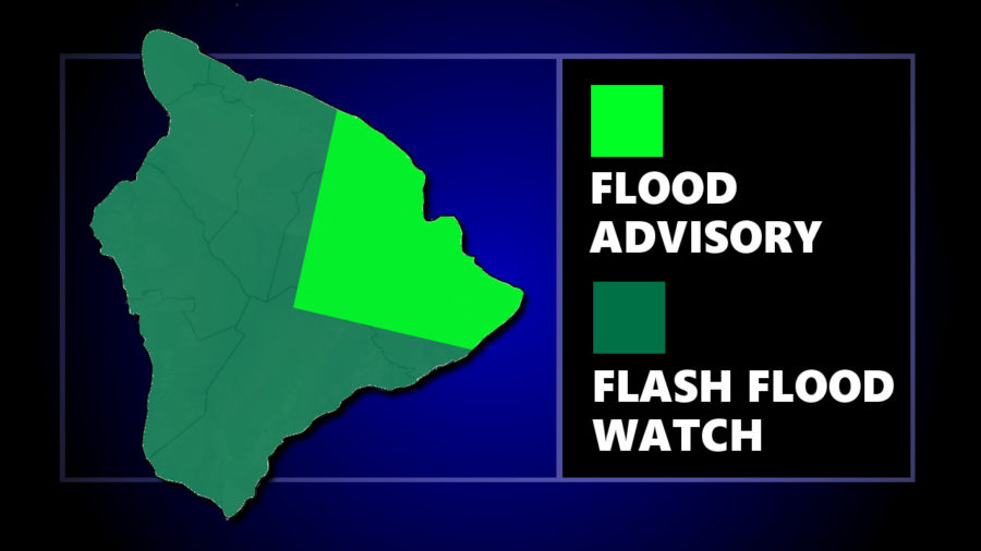 Flood Advisory Issued As Hawaii Flash Flood Watch Continues