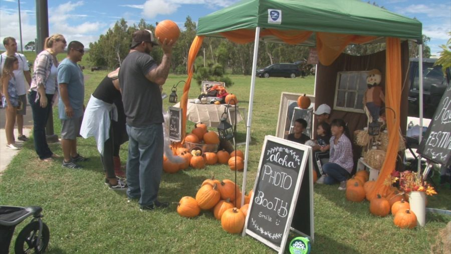 VIDEO: Second Annual Waimea Fall Festival Held
