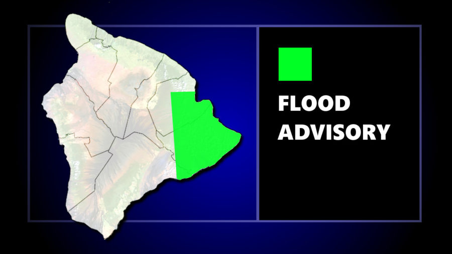 Flood Advisory In Effect For Hilo, Puna