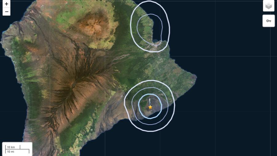 Magnitude 3.8 Earthquake Rumbles South Of Pu'u O'o