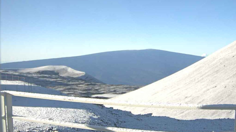 More Snow On Mauna Kea As Flash Flood Watch Discontinued