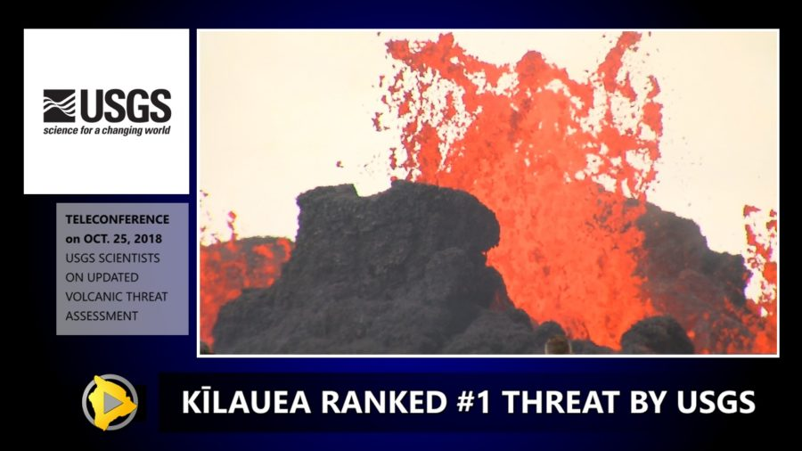 VIDEO: Kilauea Ranked No. 1 Volcano Threat By USGS