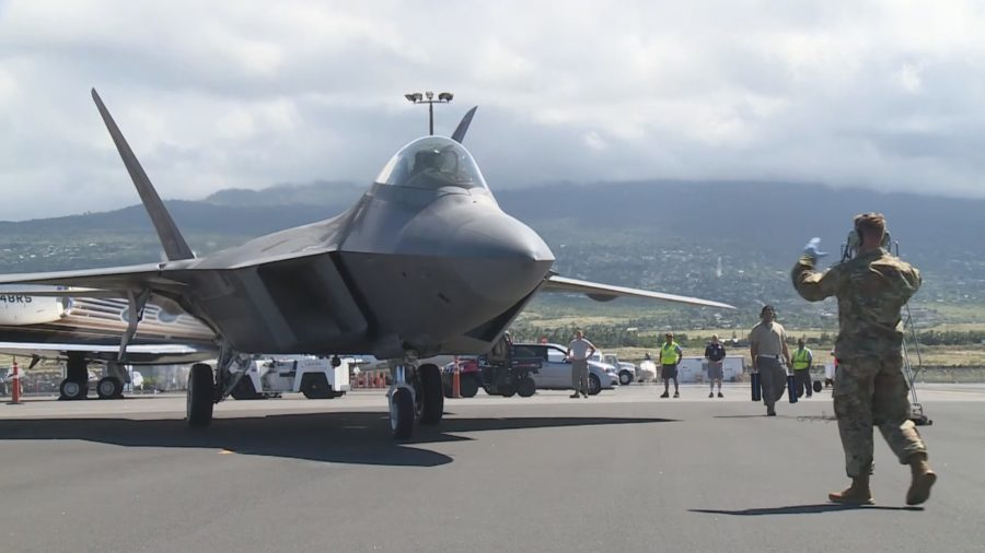 F-22 Raptors Come To Hilo, Part Of First Visit To Hawaii Island