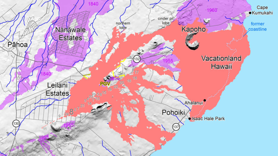 VOLCANO WATCH: How Lava Flow Maps Are Made During An Eruption