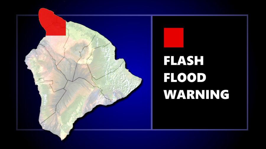 Flash Flood Warning For Kohala Area Of Hawaii
