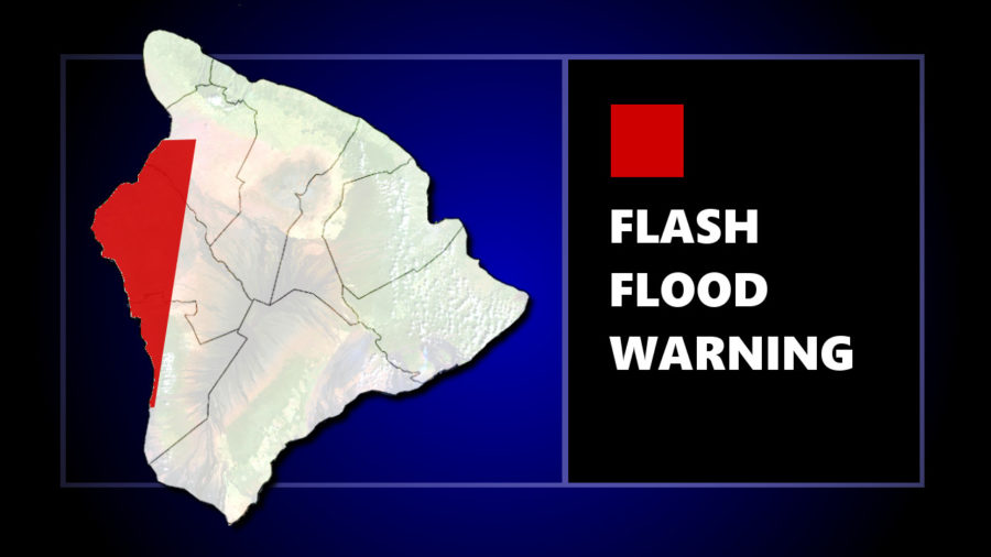 Flash Flood Warning Issued For Kona