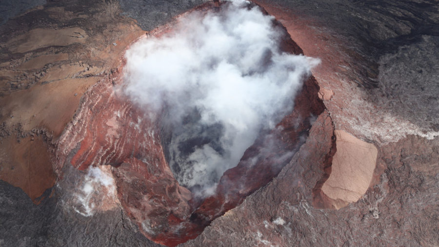 USGS Observations Over Kilauea Volcano East Rift Zone