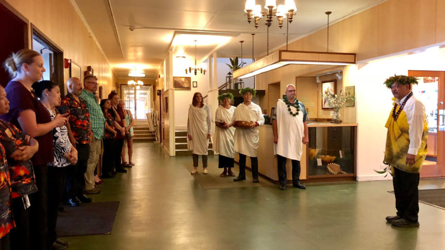 Volcano House Celebrates Reopening With Hawaiian Blessing