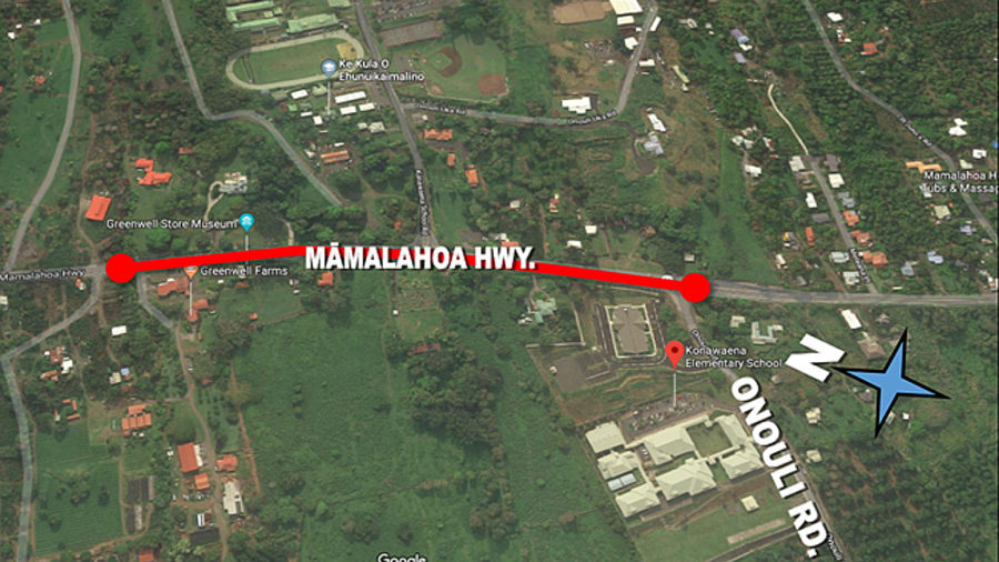 Highway Resurfacing Work Set For South Kona