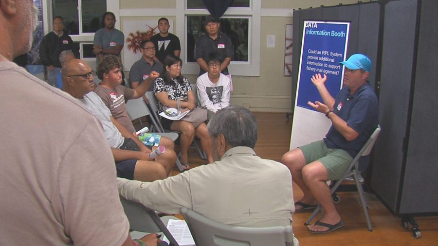 VIDEO: Crowded Hilo Meeting On Fishing Registry, Permit, License Study