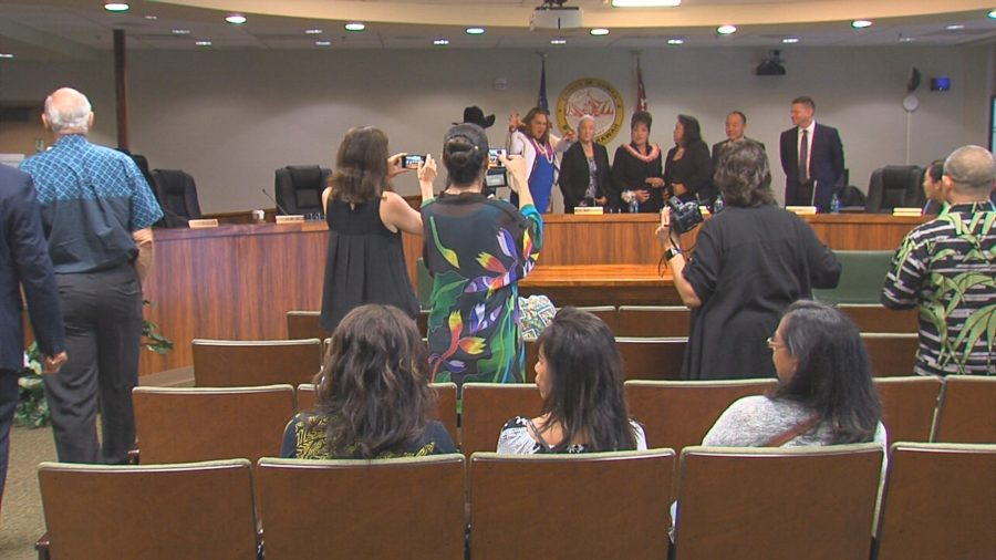 VIDEO: Outgoing County Council Meets One Last Time In Hilo
