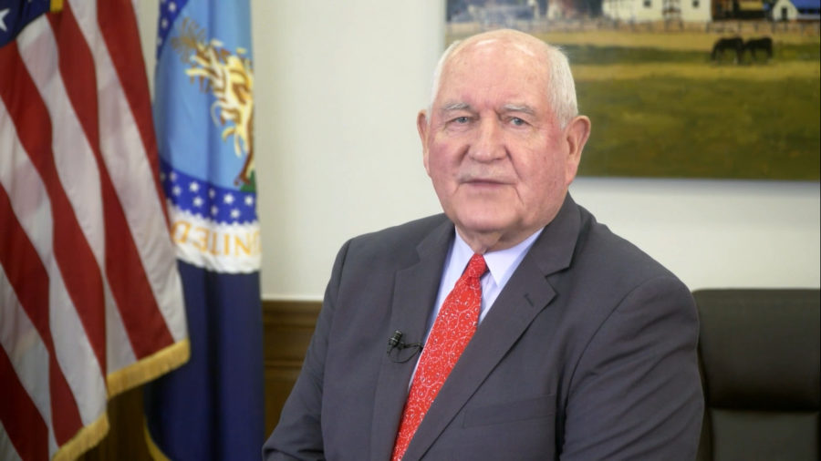 U.S. Secretary of Agriculture Perdue On Hawaii Island