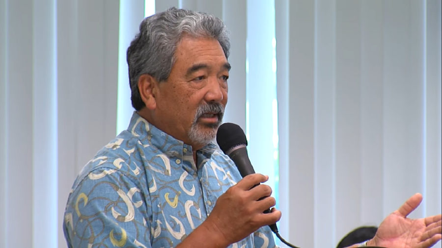 Changes In Hawaii County Administration