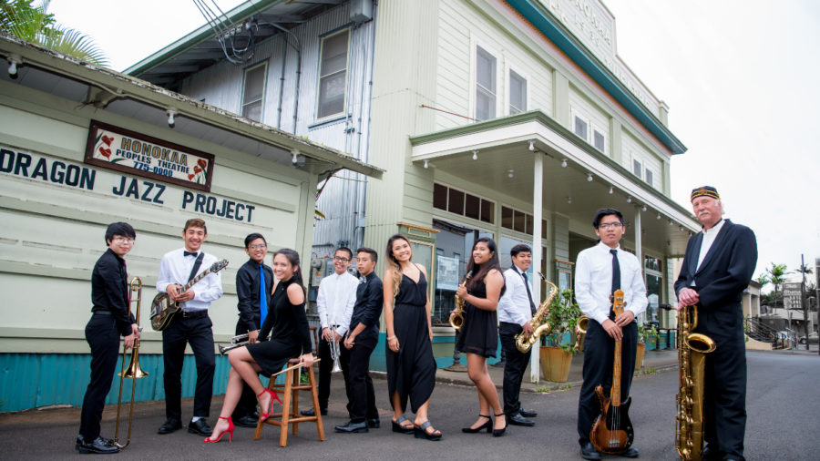Honokaa Dragon Jazz Project To Play With Johnny Nicholas