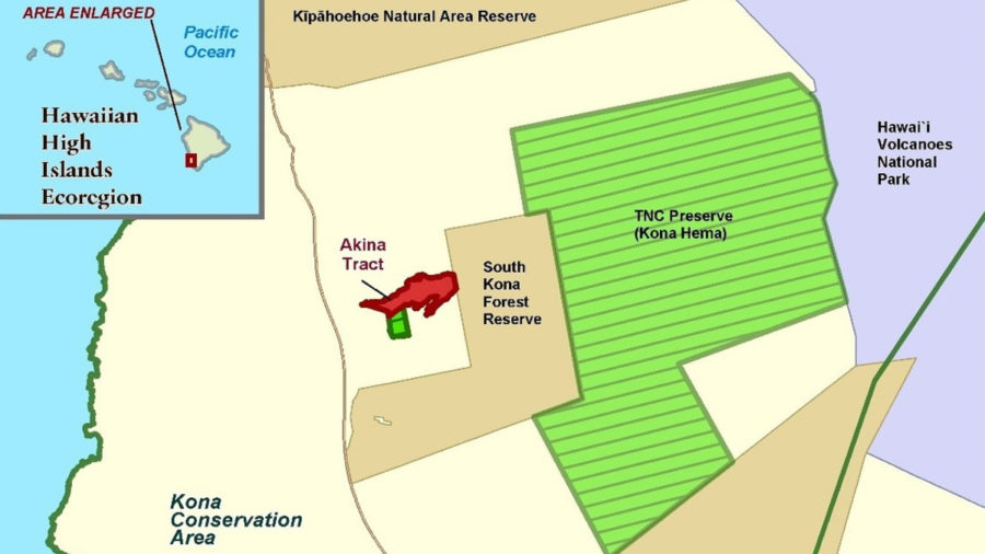 135-acre South Kona Parcel Gifted To Nature Conservancy