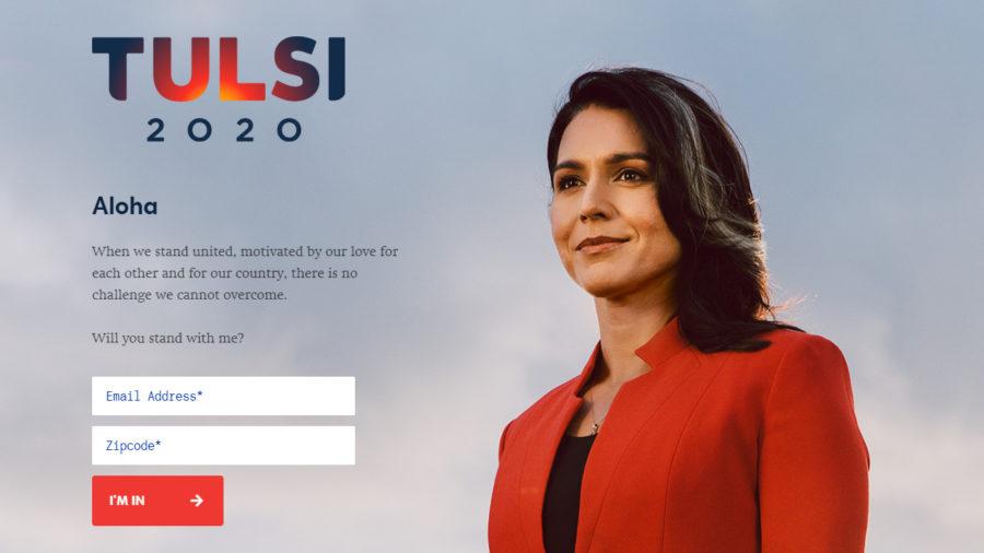 Hawaii Rep. Tulsi Gabbard To Run For President In 2020