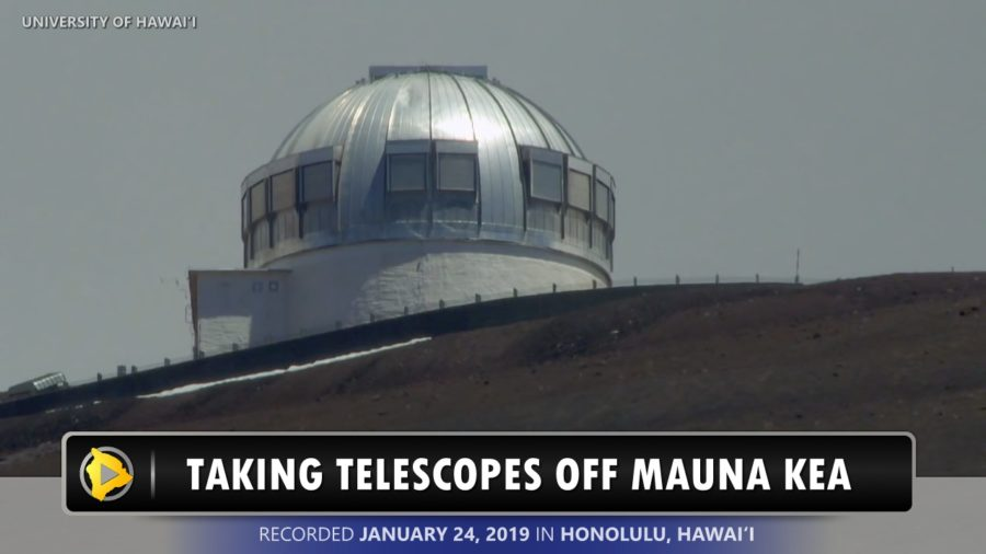 VIDEO: Update On Taking Telescopes Off Mauna Kea