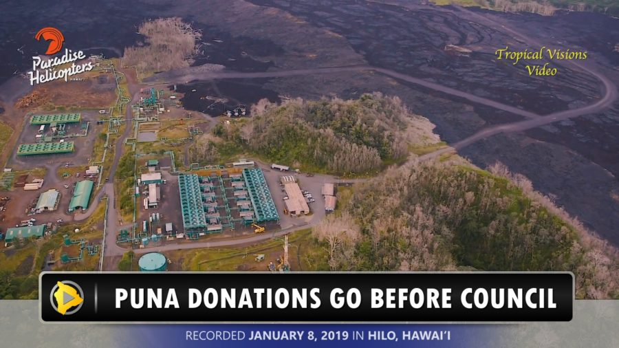 VIDEO: Puna Eruption Donations To Get Council Approval