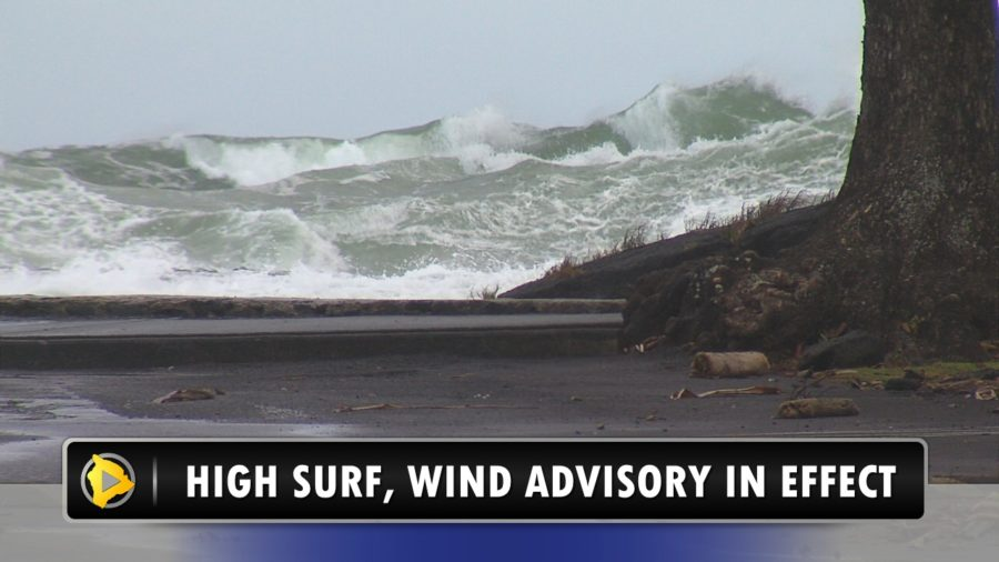 VIDEO: High Surf, Wind Impact Hawaii Island