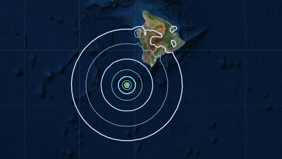 No Tsunami After Earthquake Southwest Of Hawaii