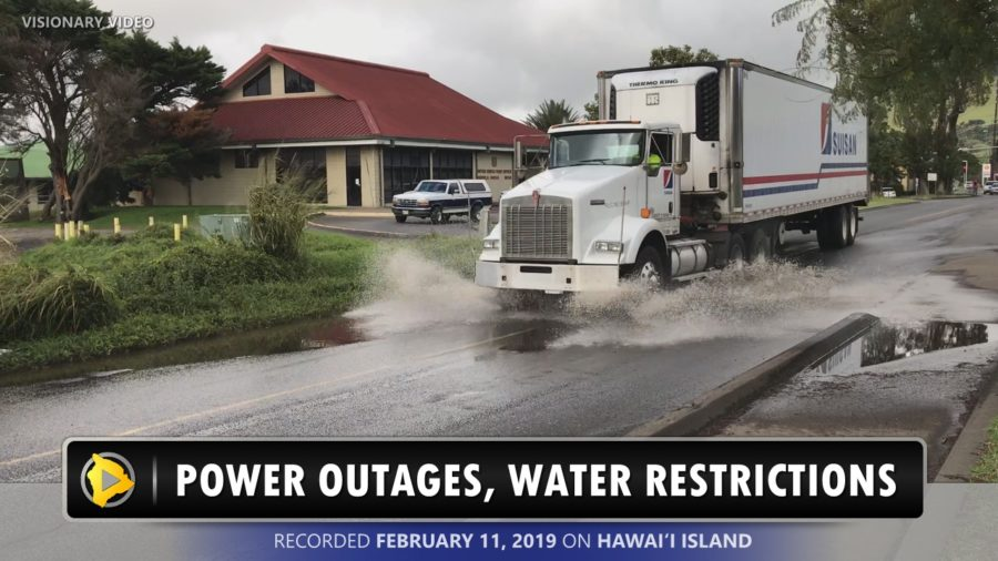 VIDEO: Power Outages, Water Restrictions After Storm