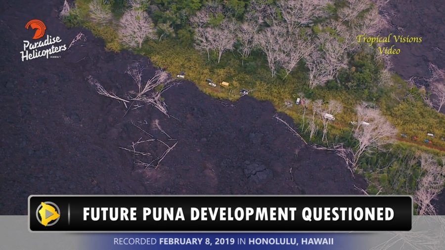 VIDEO: After Eruption, Future Puna Development Questioned