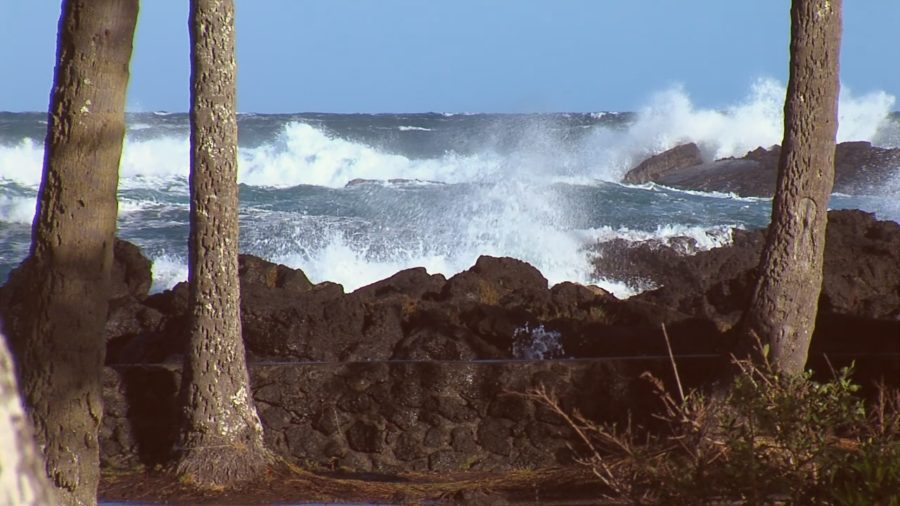County Beach Parks Open As High Surf Warning Continues