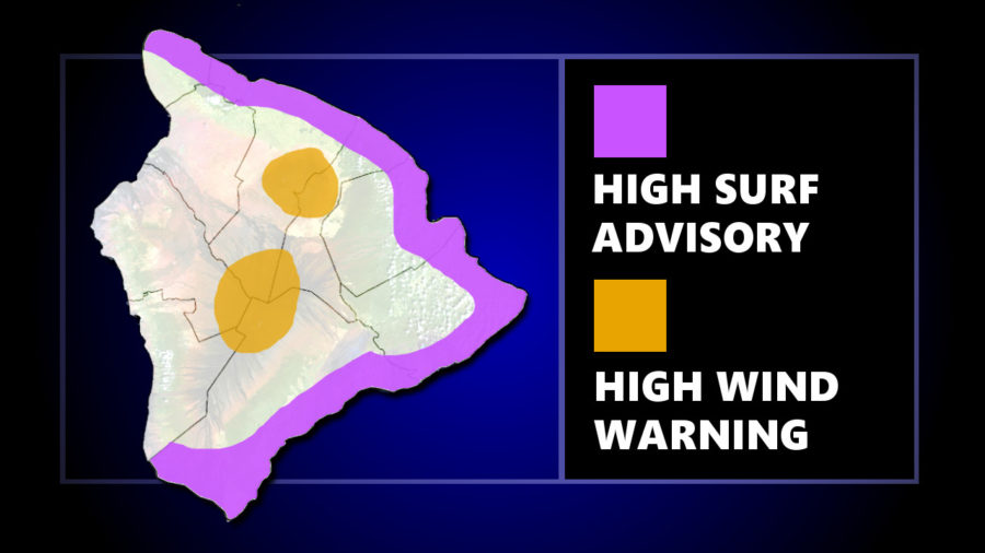 Wind Warning, Surf Advisory Replace Flood Watch, Winter Storm Warning