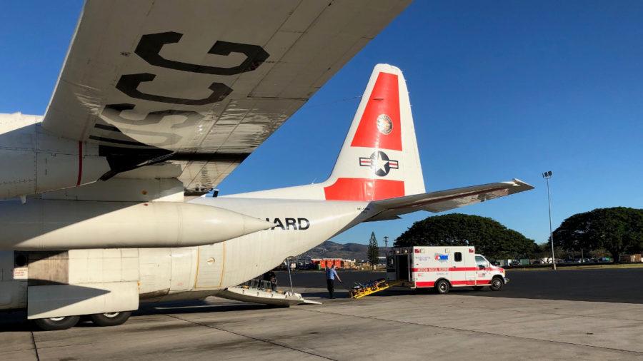 Coast Guard Aircrew Flies To Help Sepsis-Stricken Hilo Man