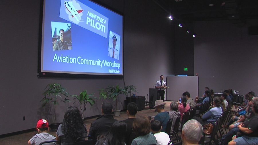 VIDEO: Aviation Celebrated At Imiloa Birthday Party
