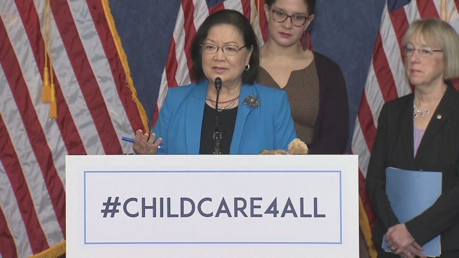 VIDEO: Sen. Hirono Pushes To Expand Child Care, Early Learning Programs