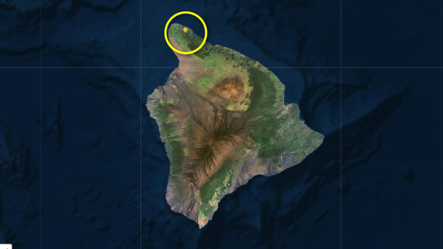 Magnitude 3.5 Earthquake Felt In North Kohala