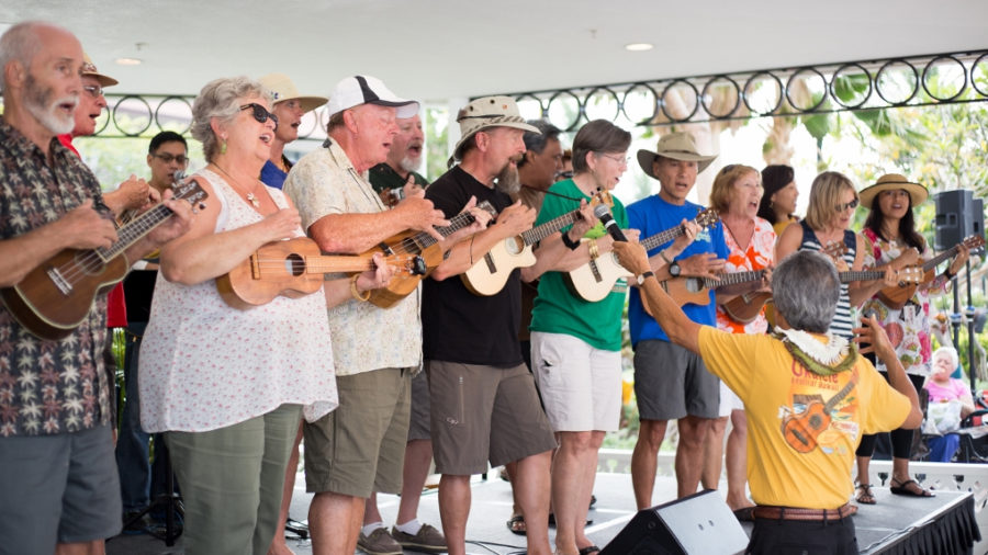 TODAY: 19th Annual Great Waikoloa Ukulele Festival