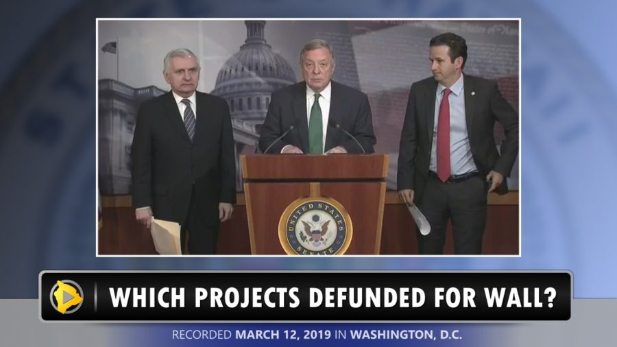 VIDEO: Which Military Projects Will Be Defunded To Pay For Trump Wall?