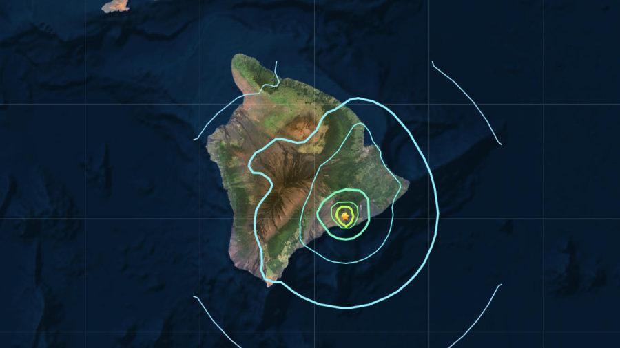 Magnitude 5.5 Earthquake Jolts Hawaii Island
