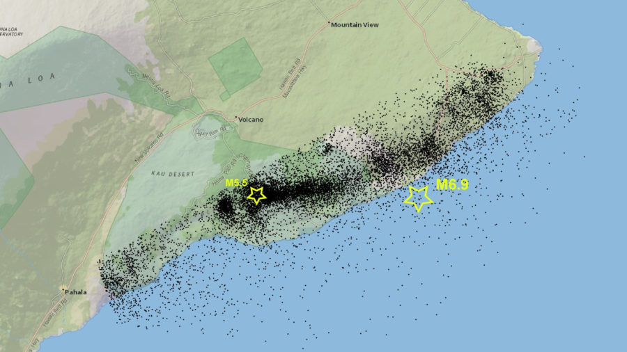 VOLCANO WATCH: Magnitude 5.5 Earthquake Perspective Provided