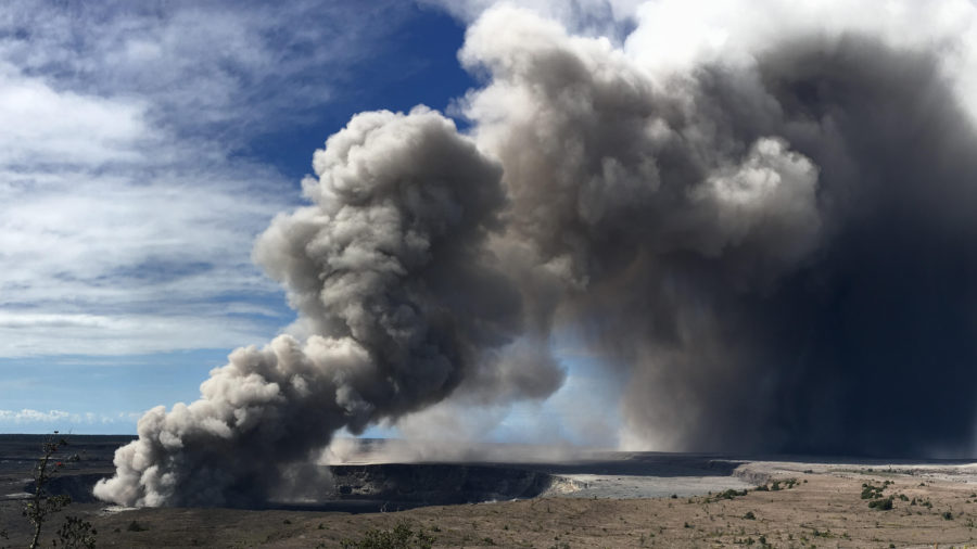 VOLCANO WATCH: Did groundwater trigger explosive eruptions at Kilauea?
