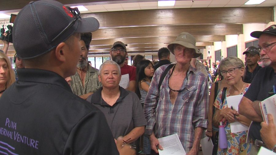 VIDEO: Puna Geothermal Holds Community Meeting