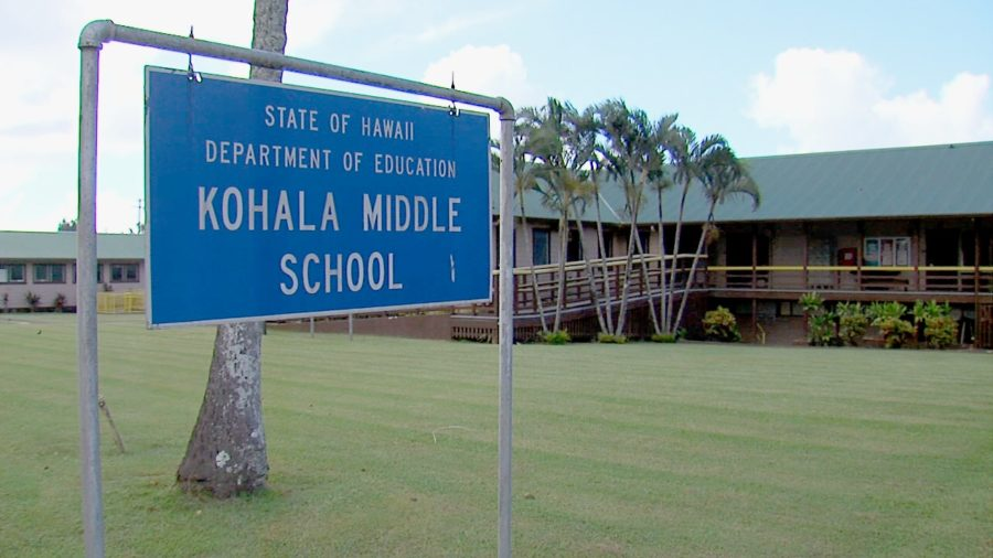 Kohala Middle School Locked Down During Police Activity